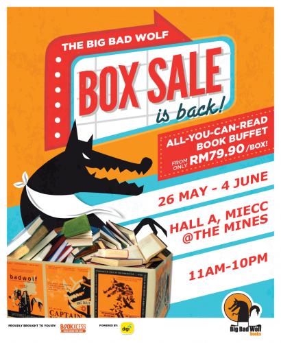 Big Bad Wolf Box Sale Mumcentre Malaysia